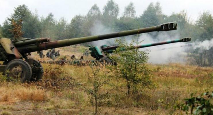 Боевики гибридной армии РФ применили ствольную артиллерию - штаб