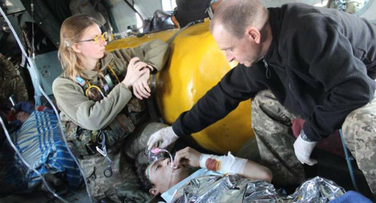 Медики показали работу системы первой помощи в зоне АТО