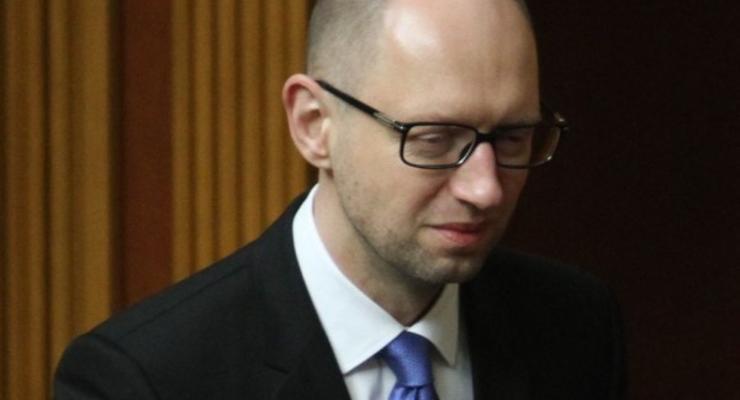 Яценюк выступил с первым публичным заявлением после отставки