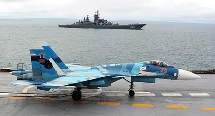 Разбился еще один самолет с авианосца Адмирал Кузнецов - СМИ