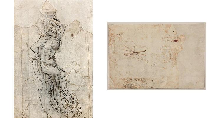 В Париже обнаружили неизвестный рисунок Леонардо Да Винчи