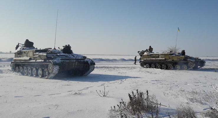 Украина провела ракетные учения на границе с Крымом