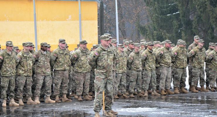 На Яворовский полигон прибыли иностранные военные инструкторы