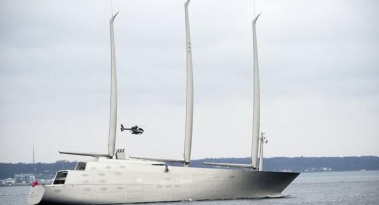 Гибралтар арестовал российскую суперъяхту за долги
