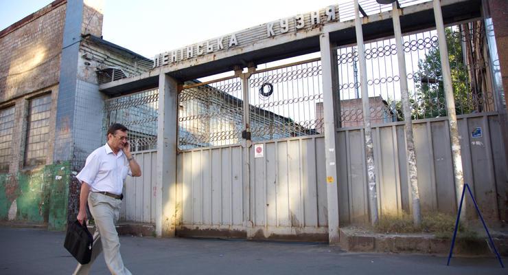 В Киеве декоммунизировали Ленинскую кузню Порошенко
