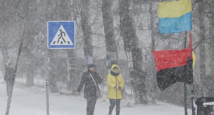 Синоптики прогнозируют усиление снегопада в Киеве
