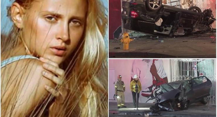 В США украинская фотомодель впала в кому после ДТП