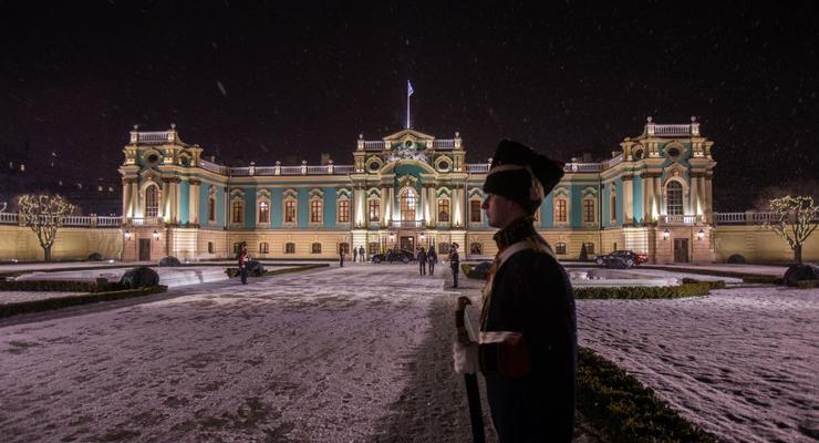Мариинский дворец открылся в Киеве после реконструкции