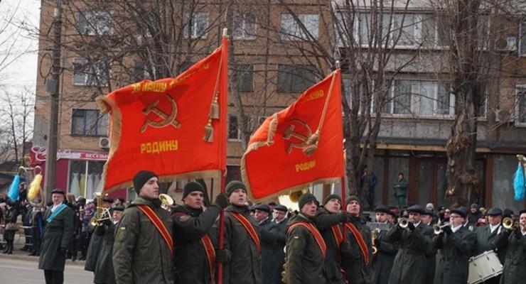 "За ""красный"" парад Нацгвардии отстранили командира ВЧ"