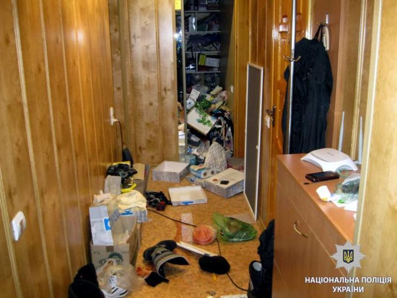 По квартире были разбросаны вещи / facebook.com/police.kharkov