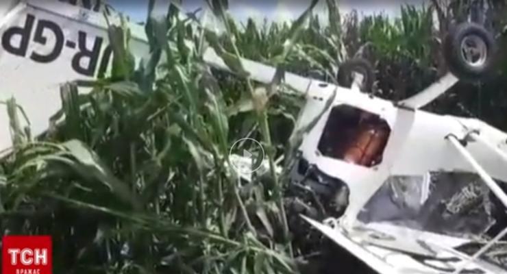 В Сумской области разбился кукурузник: пилот погиб