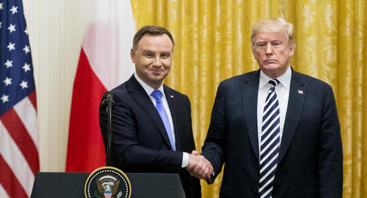 Дуда попросил Трампа о создании базы США в Польше