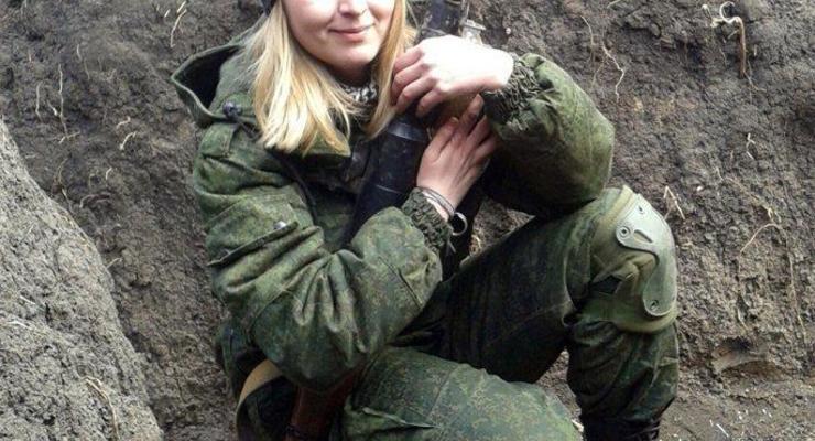 """В """"ДНР"""" ликвидирована террористка"""
