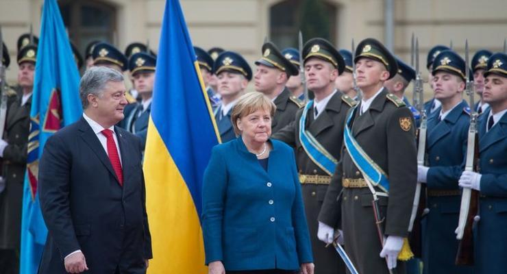 Заговорила по-украински. Итоги визита Меркель