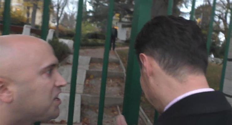 """""""Ты фашист"""": полиция займется Филлипсом из-за провокации с послом Украины в Вене"""