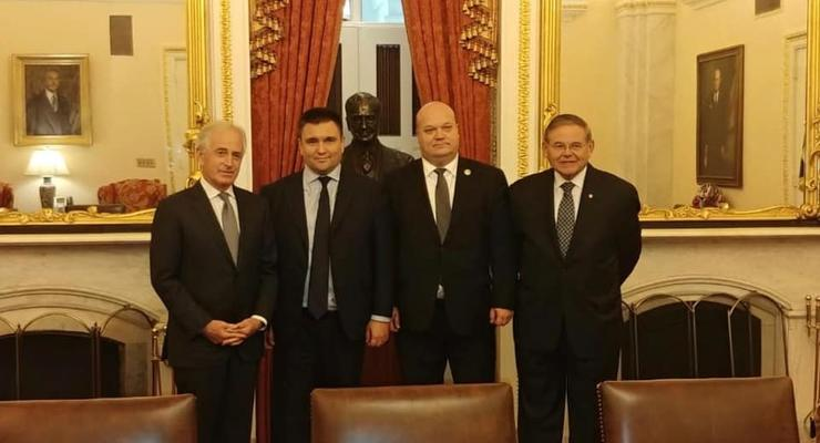 Климкин поблагодарил Сенат США за признание Голодомора