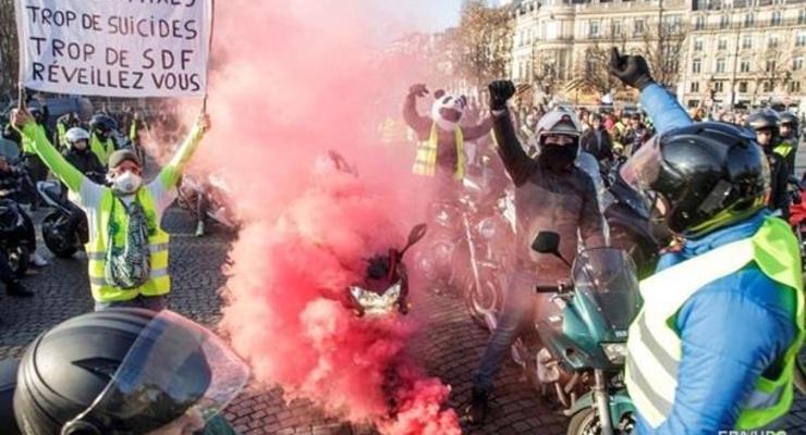 Во Франции мужчина с гранатой требовал встречи с Макроном