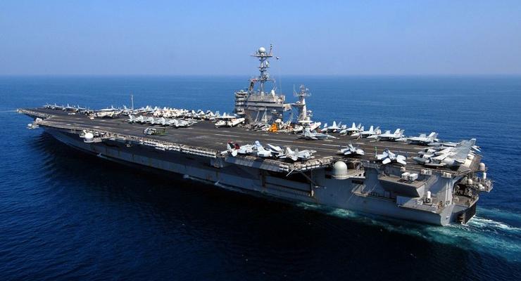 Авианосная группа США вошла в Персидский залив