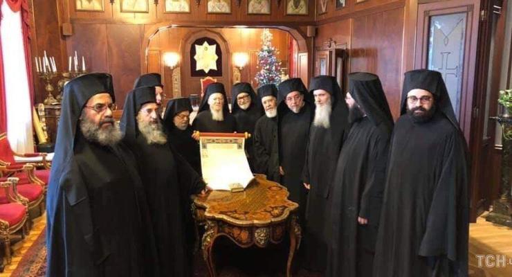 Синод в Стамбуле: Все епископы подписали Томос для Украины