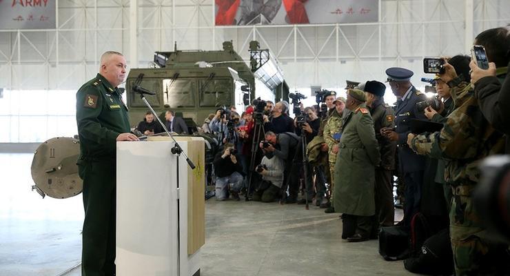 РФ показала иностранцам модернизированный Искандер