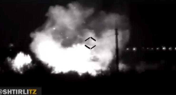 Боевики нечаянно уничтожили свой склад боеприпасов - офицер Штефан