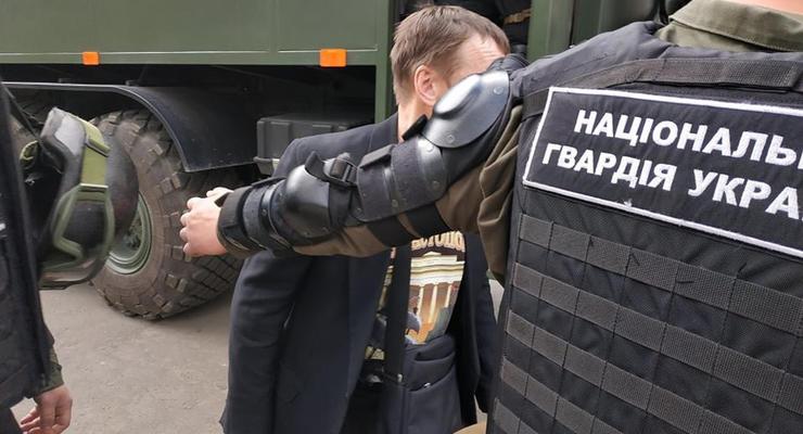 В Одессе задержали сепаратиста в футболке с изображением флага РФ