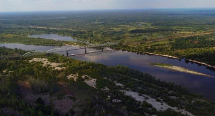 Опубликовано уникальный снимок окрестностей ЧАЭС: Панорамное фото сделано с высоты 35-50 метров