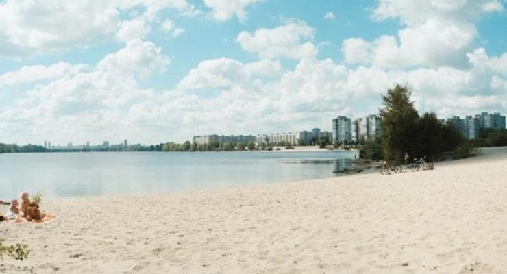 Названы безопасные пляжи Киева