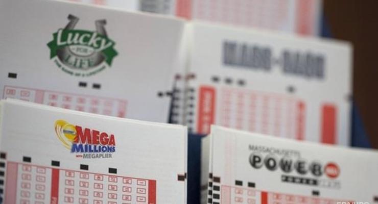 В США в лотерее сорван джекпот в $530 млн