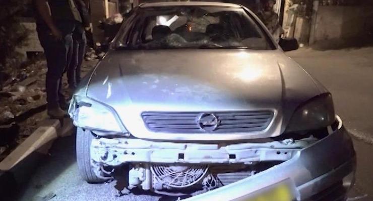 В Израиле автомобиль протаранил группу военных
