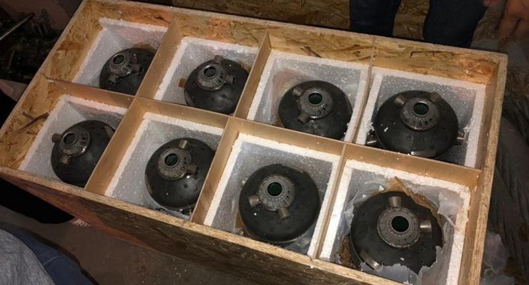СБУ блокировала подпольные поставки за границу военной продукции