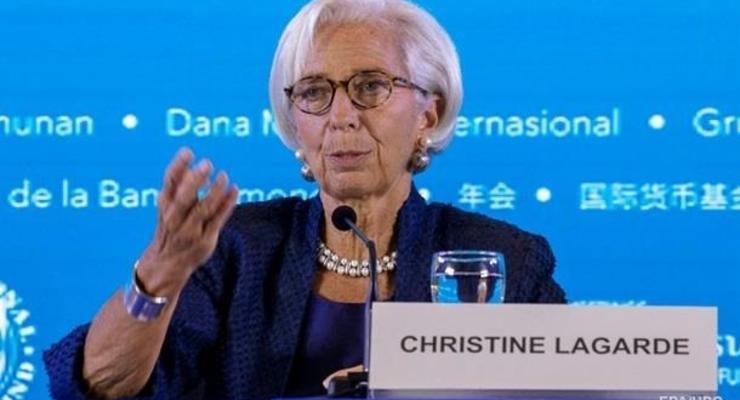 Саммит ЕС утвердил Лагард главой ЕЦБ