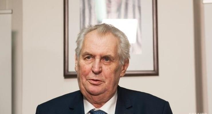 Президент Чехии за два года похудел на 20 килограмм