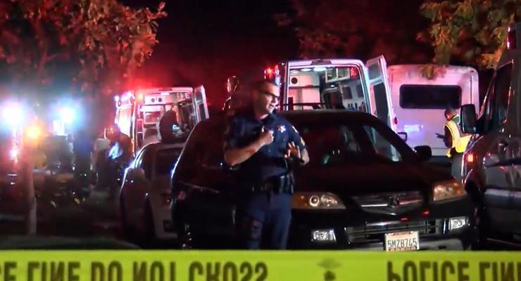 В США расстреляли 10 человек на вечеринке