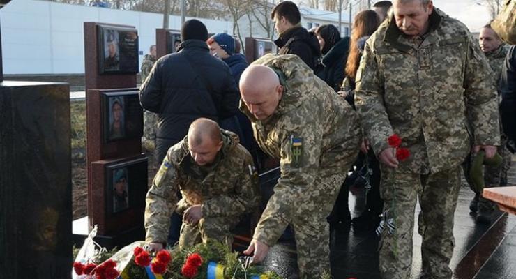 На Одесчине открыли мемориал морпехам