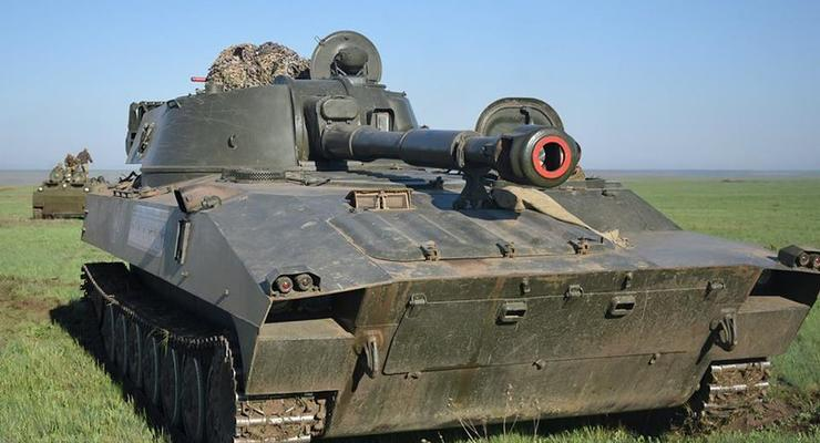 ОБСЕ зафиксировала тяжелую артиллерию боевиков в жилых кварталах