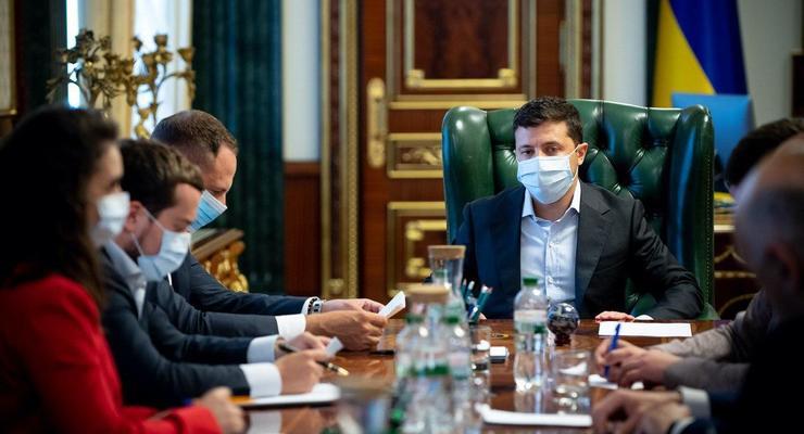 В КПИ вспышка COVID – 152 случая: У Зеленского собрали заседание