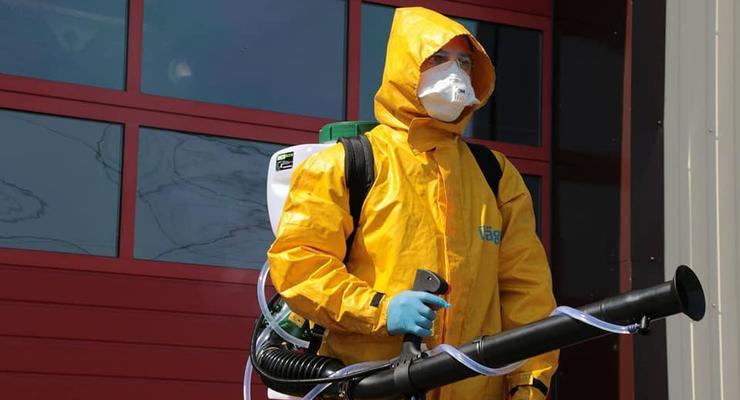 В Печерском суде Киева вспышка коронавируса