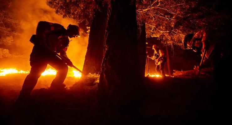 Жертвами пожаров вСШАстали около 30человек