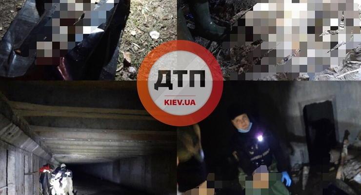В Киеве в коллекторе обнаружили человеческий скелет