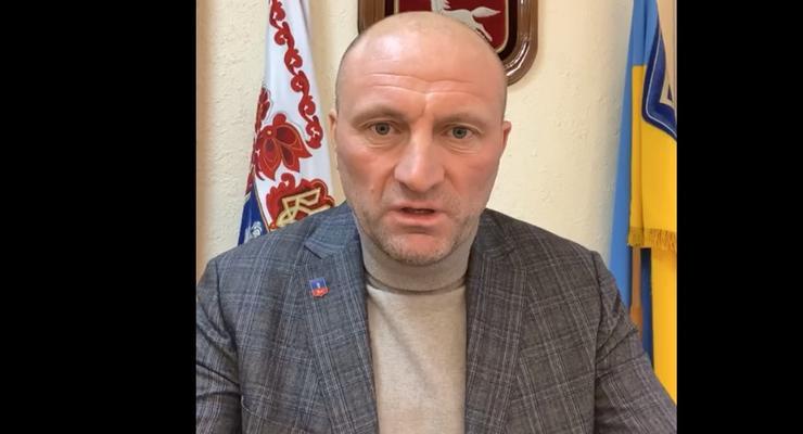 Мэр Черкасс публично извинился перед Зеленским