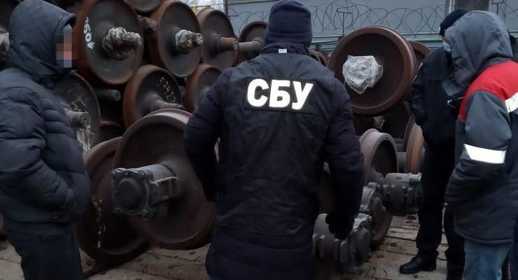 На Луганщине блокировали поставку старых железнодорожных запчастей