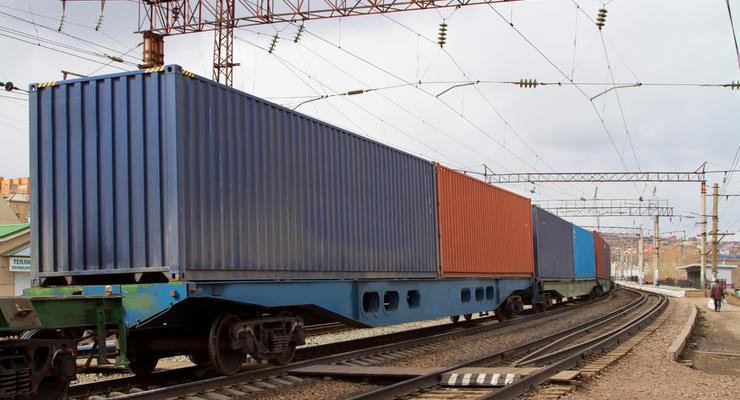 За год Китай переправил в Украину 22 контейнерных поезда