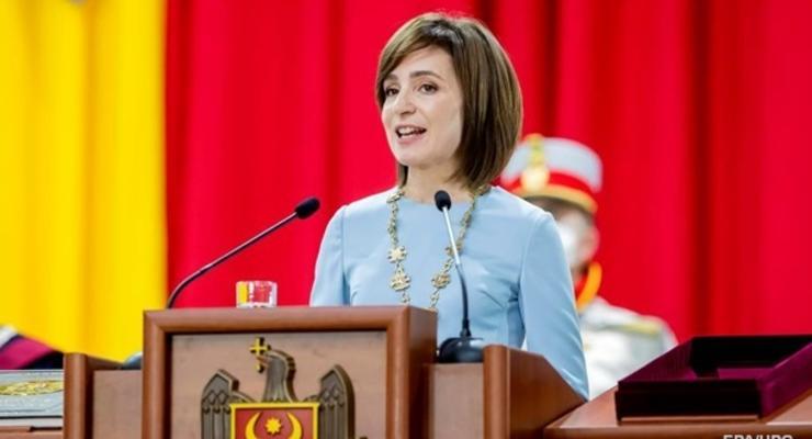 Названа дата визита Санду в Украину