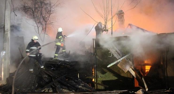 В ГСЧС назвали число пожаров в 2020 году