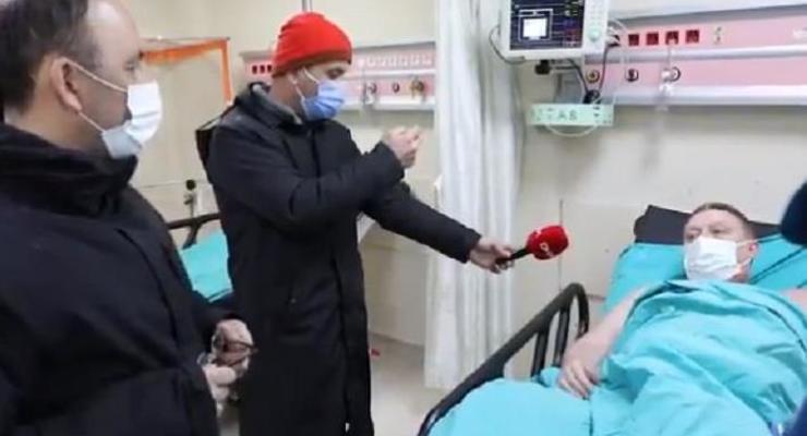 Спасенные украинские моряки находятся в больнице
