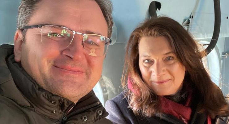 Глава ОБСЕ и Кулеба поехали на Донбасс