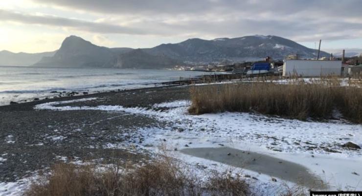 На южном берегу Крыма обмелела самая длинная река