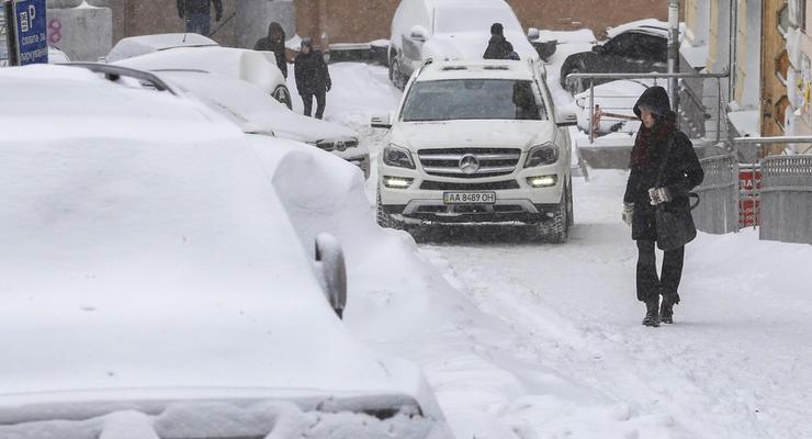 Украинцев из-за плохой погоды попросили не выходить из дома