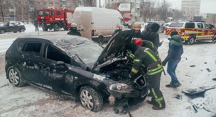 9 февраля в Киеве синоптики ждут снег, метель и гололед